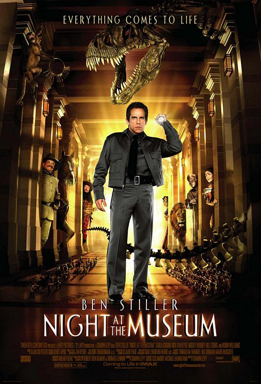 Night At The Museum, 2006, Shawn Levy
