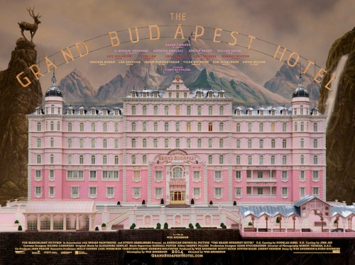 The Grand Budapest Hotel, 2014, Wes Anderson