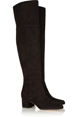 Over-the-knee suede boots. Sam Edelman, $250