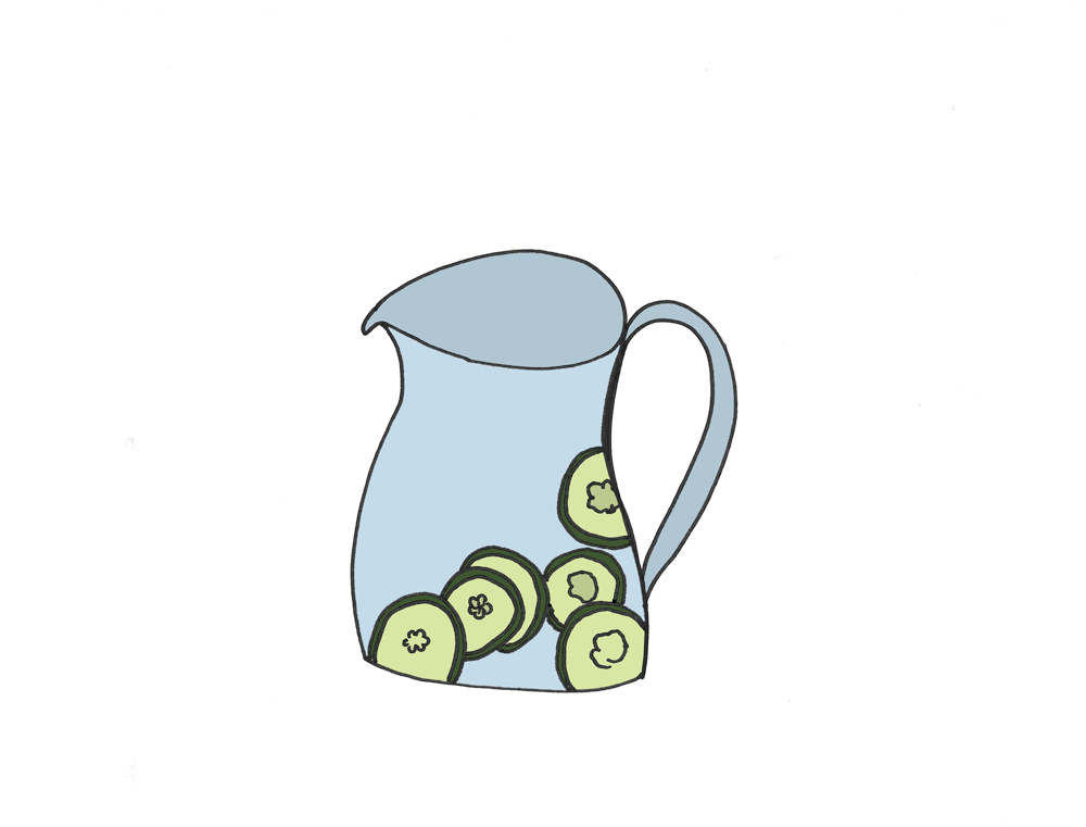 cucumber water_style-behind