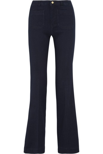 Mid-rise flared jeans. Michael Kors, $145
