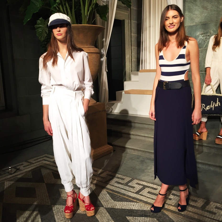 Sailor mood at Ralph Lauren's collection SS16 cocktail party presentation