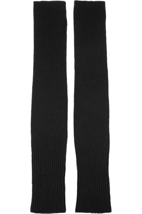 Wool and cashmere-blend arm warmers. The Elder Statesman, $170