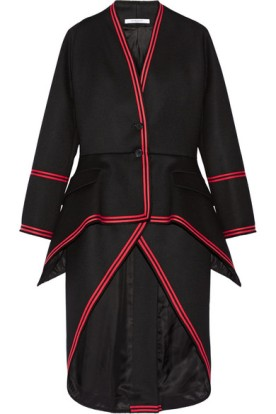 Wool-blend twill coat. Givenchy, $6,100