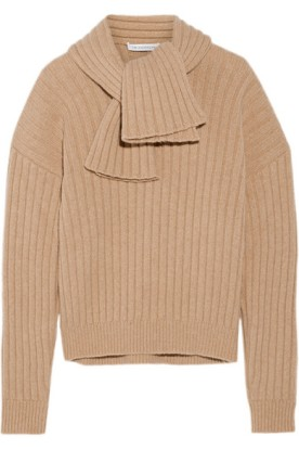 Ribbed-knit sweater. J.W.Anderson, $900