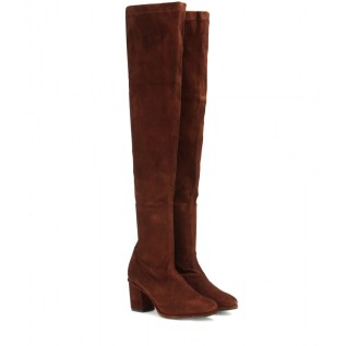 Suede over-the-knee boots. Opening Ceremony, $675
