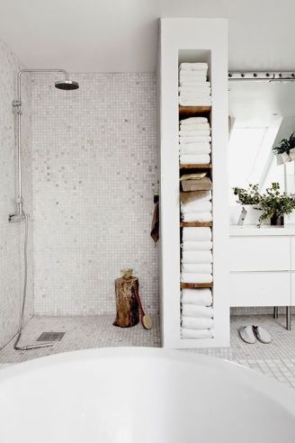 14. Decorate your bathroom like it was a Spa.