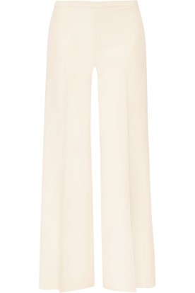Wool and silk-blend shantung wide-leg pants. The Row, $1,590