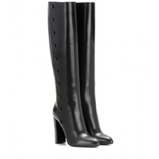 Leather boots. Tom Ford, $1,677