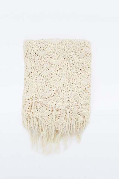 Crochet throw. Urban Outfitters, $122