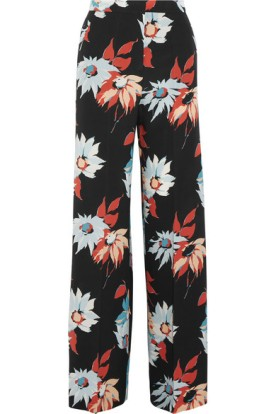 Silk wide-leg pants. Etro, $1,240