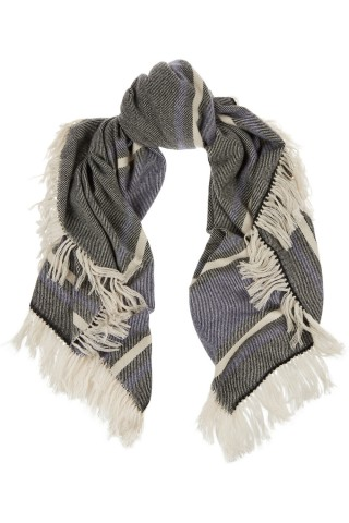 Wool and cashmere-blend scarf. Isabel Marant, $550