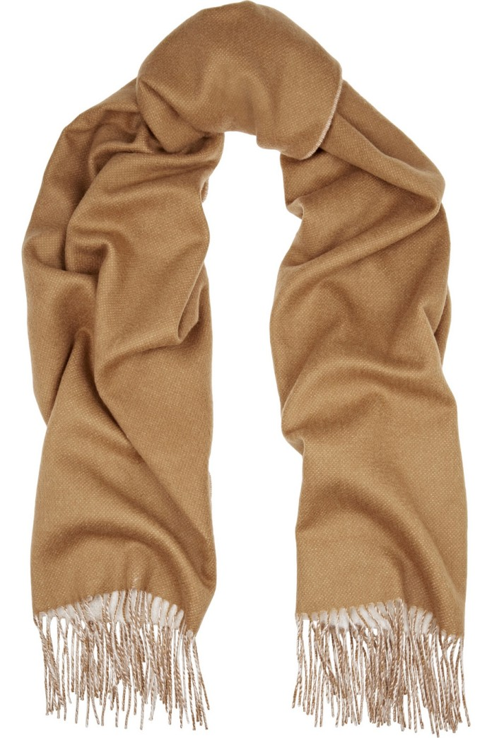 Double-faced merlino wool scarf. Rag & bone, $255