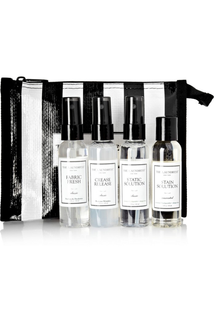 Travel pack fabric care set. The Laundress, $52