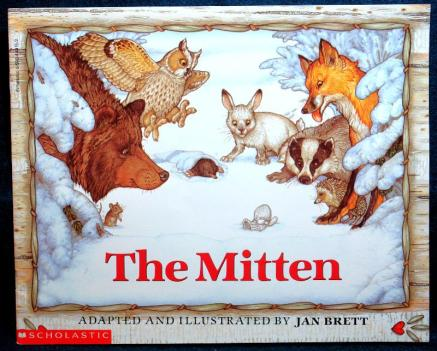 The Mitten, Jan Brett (1981)