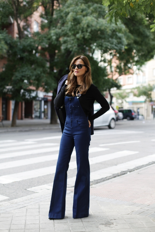 Flared overalls. (Lady Addict)