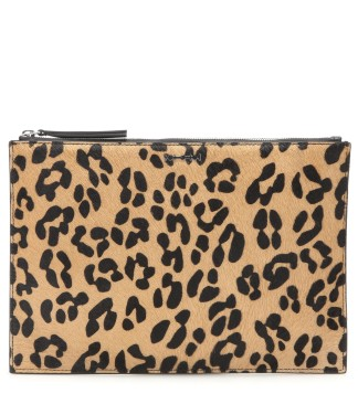 Calf hair clutch. McQ Alexander McQueen, $239 (on sale)