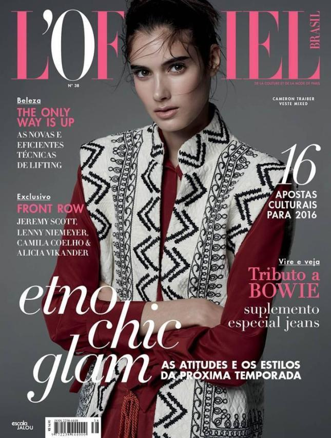 Cameron Traiber for L'Officiel Brasil. (Ph. credit http://www.nicoleheiniger.com)
