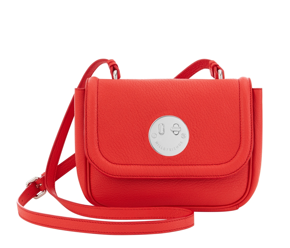 Happy Mini Bag lollipop red, Hill and Friends FW 16-17