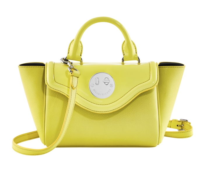 Happy Mini Satchel happy yellow, Hill and Friends FW 16-17