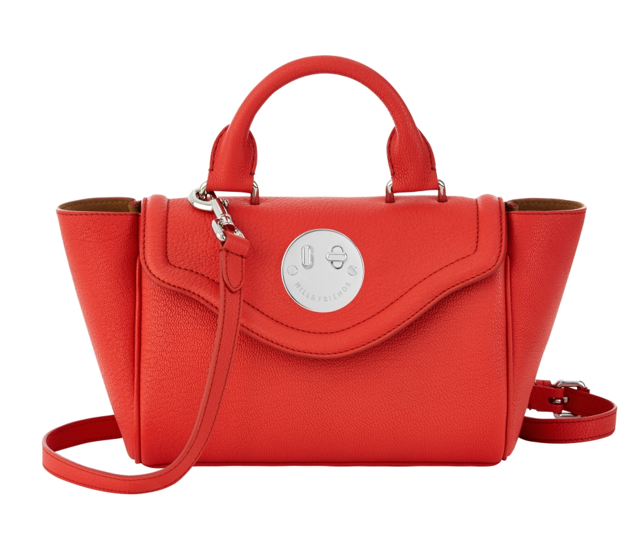 Happy Mini Satchel lollipop red, Hill and Friends FW 16-17