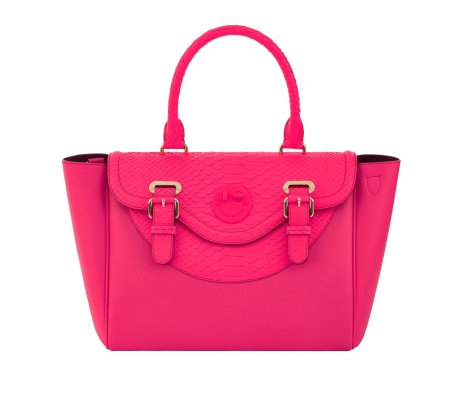 Happy Satchel happy pink, Hill and Friends FW 16-17