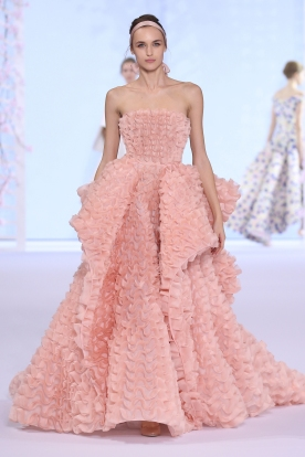 Ralph & Russo SS 16 haute couture. (Photo by Richard Bord/Getty Images)