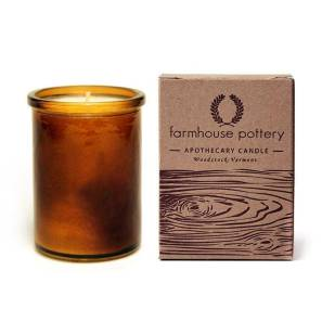 Vermont wood fir candle, Farmhouse Pottery €35,21